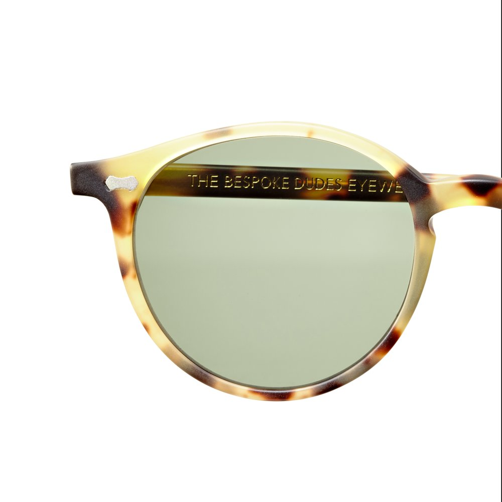 799f367969 CRAN MATTE LIGHT TORTOISE FRAME – BOTTLE GREEN LENSES – IFC Bangkok