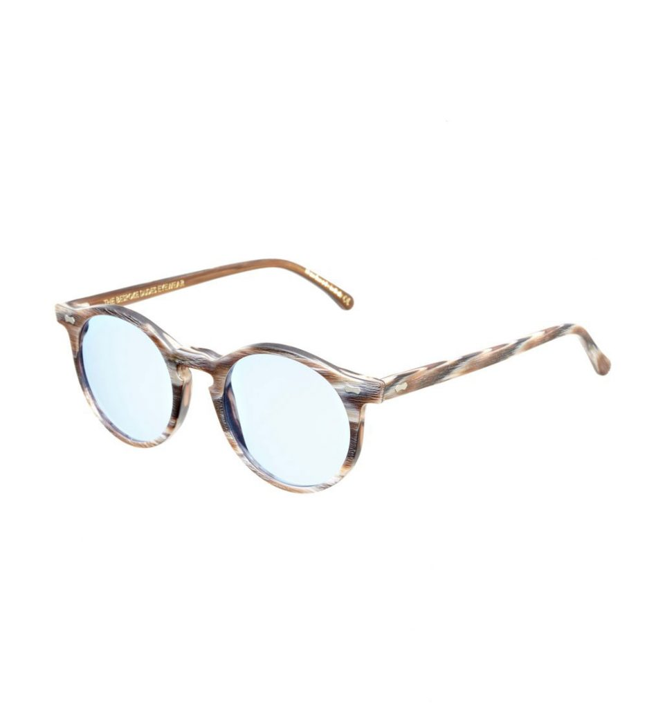 5048e75032 OUT OF STOCK CANVAS BROWN BRUSHED FRAME – BLUE LENSES ...