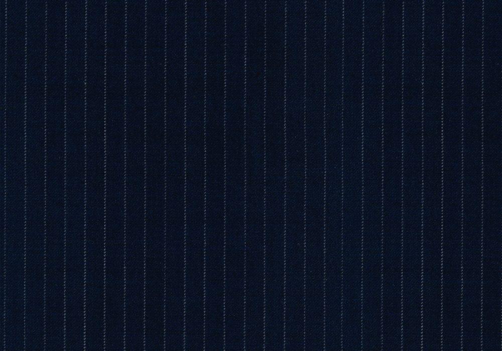 SIGNATURE NAVY BLUE PIN STRIPE
