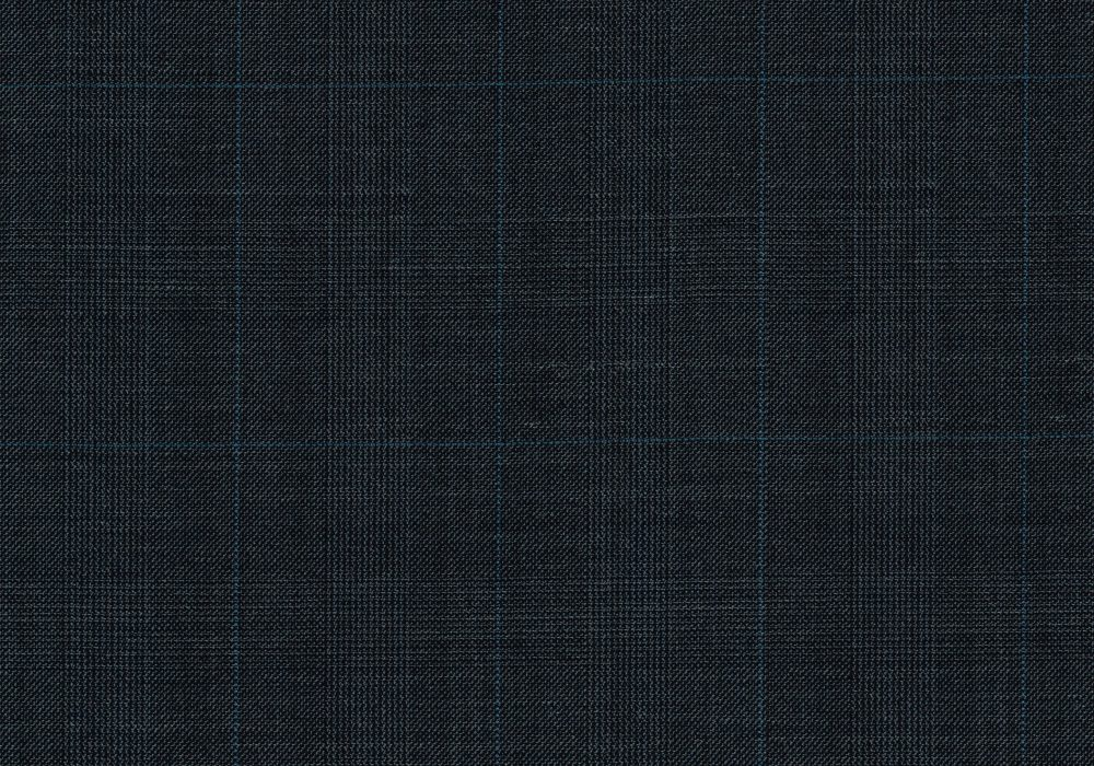 SIGNATURE BLUE GREY PRINCE OF WALES WITH BLUE WINDOW PANE